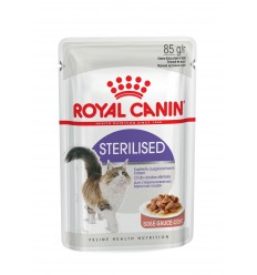 Royal Canin Gatos Sterilised (Gravy), Gatos, Húmidos, Adulto, Alimento
