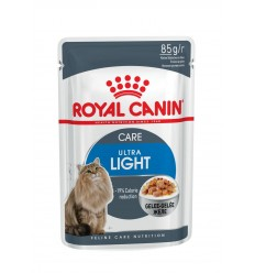 Royal Canin Ultra Light (Jelly), Gatos, Húmidos, Adulto, Alimento