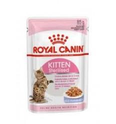Royal Canin Kitten Sterilised (Gravy), Gatinhos, Húmidos, Alimento