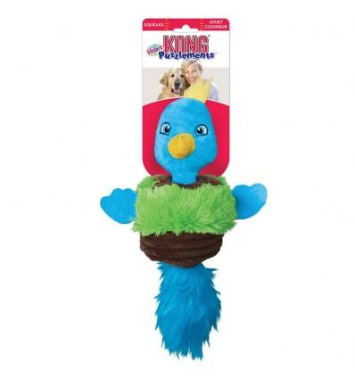 Brinquedo Kong Peluche Puzzlements Passarinho - Small