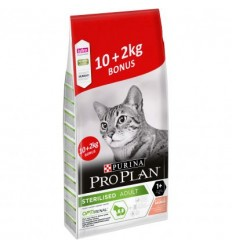 Purina Pro Plan Gato Adult Sterilised Salmão 10kg + 2kg OFERTA