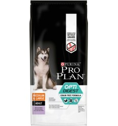 Purina Pro Plan Cão Adult Medium/Large Sensitive Digestion Perú Grain Free