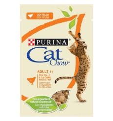Purina Cat Chow Adultos Húmidos c/ Frango
