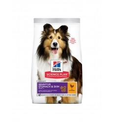 Hill's Science Plan Cão Adult Sensitive Stomach e Skin Frango