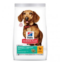 Hill's Science Plan Cão Adult Perfect Weight Small e Mini Frango