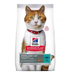 Hill's Science Plan Gato Sterilised Young Adult Atum