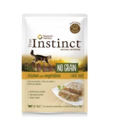 True Instinct Gato húmidos Sem Cereais Adulto Frango e Vegetais