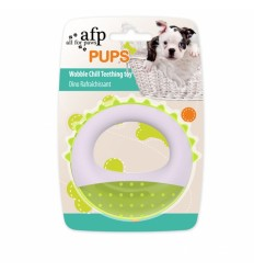 Brinquedo AFP p/ Cachorros Argola Látex (10.9 cm)