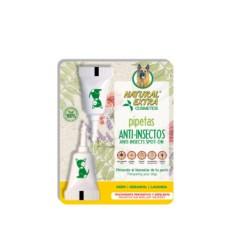 Luposan Pipetas naturais Anti-insetos para cães - 2 pipetas de 1,5ml cada