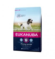Eukanuba Cão Mature e Sénior Medium Breed Frango