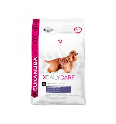 Eukanuba Daily Care Sensitive Skin12Kg