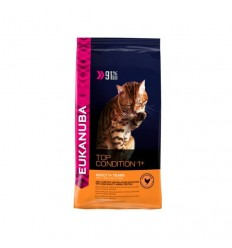 Eukanuba Gato Adult Top Condition 1+ Frango e Figado