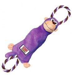 Brinquedo Kong Peluche Tugger Knots Macaco - Small/ Medium (26cm)