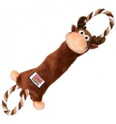 Brinquedo Kong Peluche Tugger Knots Alce - Medium/ Large (51cm)
