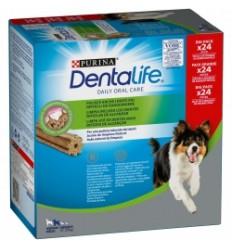 PURINA DentaLife Snacks Medium 12-25kg (Big pack 42 sticks)