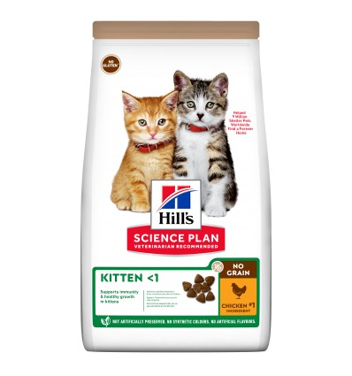 Hill's Science Plan Gatinho Sem Cereais Frango