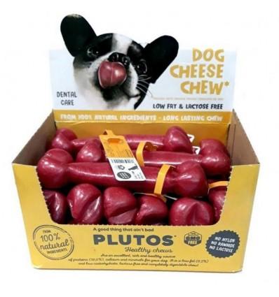 Ossos Plutus Trixie p/ Cão c/ Queijo e Bacon - Small