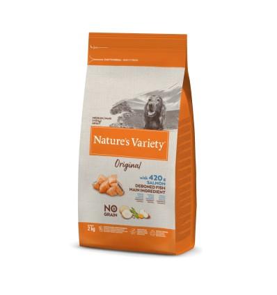 Nature's Variety Original Cão Sem Cereais Medium/Maxi Salmão