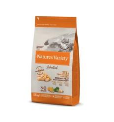 Nature's Variety Selected Gato Sterilised Sem Cereais Salmão da Noruega