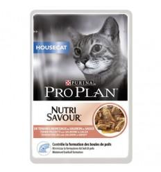 Purina Pro Plan Gatos Húmidos Nutri Savour Housecat Saq. 85gr